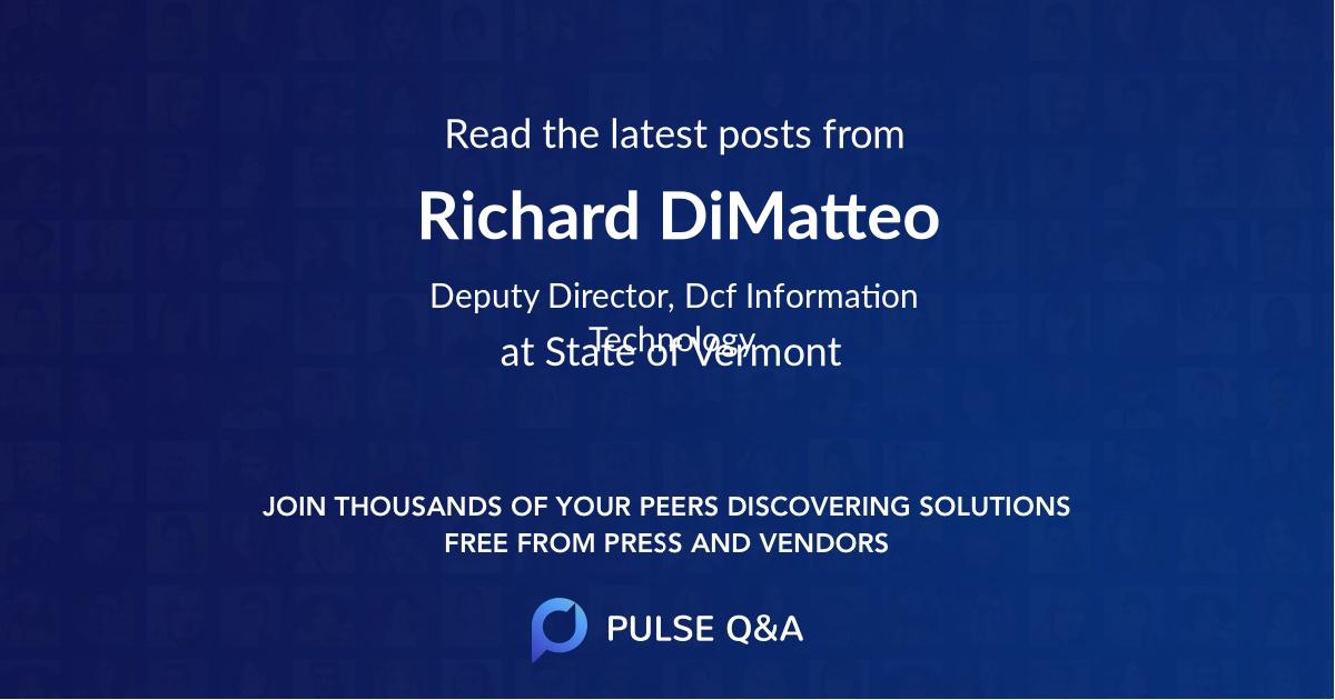 Richard DiMatteo
