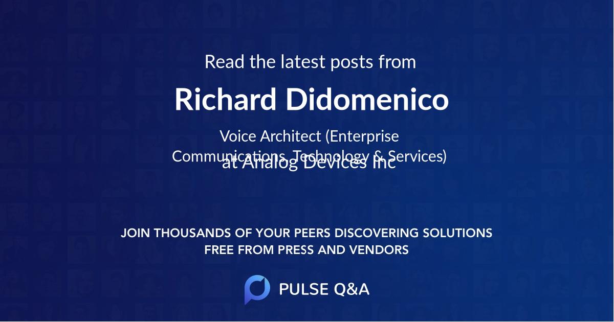 Richard Didomenico