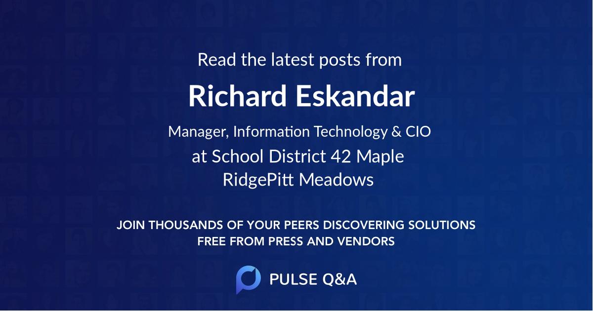 Richard Eskandar
