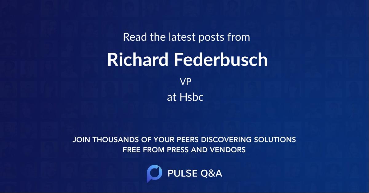 Richard Federbusch