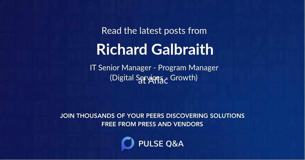 Richard Galbraith