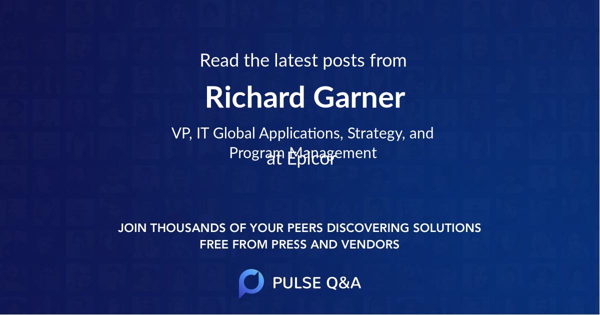 Richard Garner