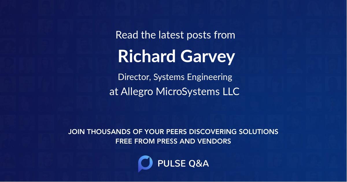 Richard Garvey