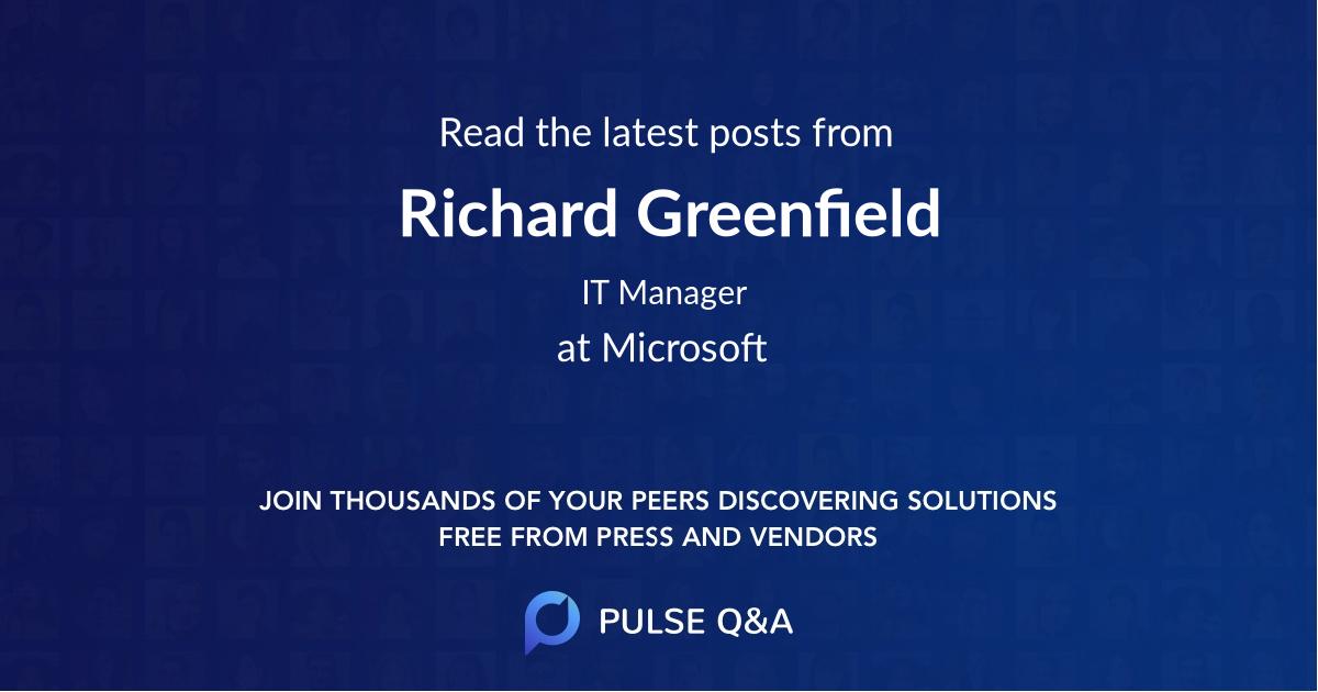 Richard Greenfield