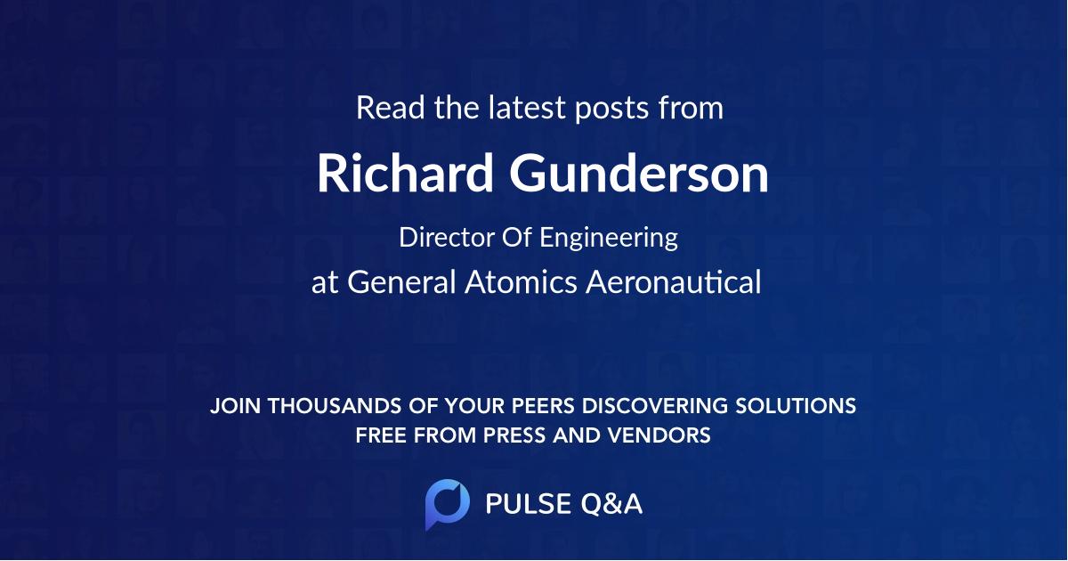 Richard Gunderson