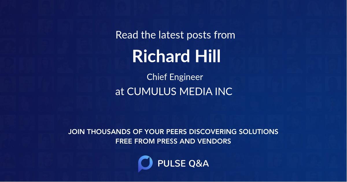 Richard Hill
