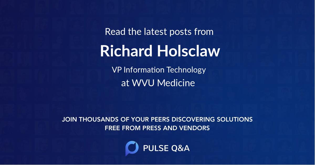 Richard Holsclaw