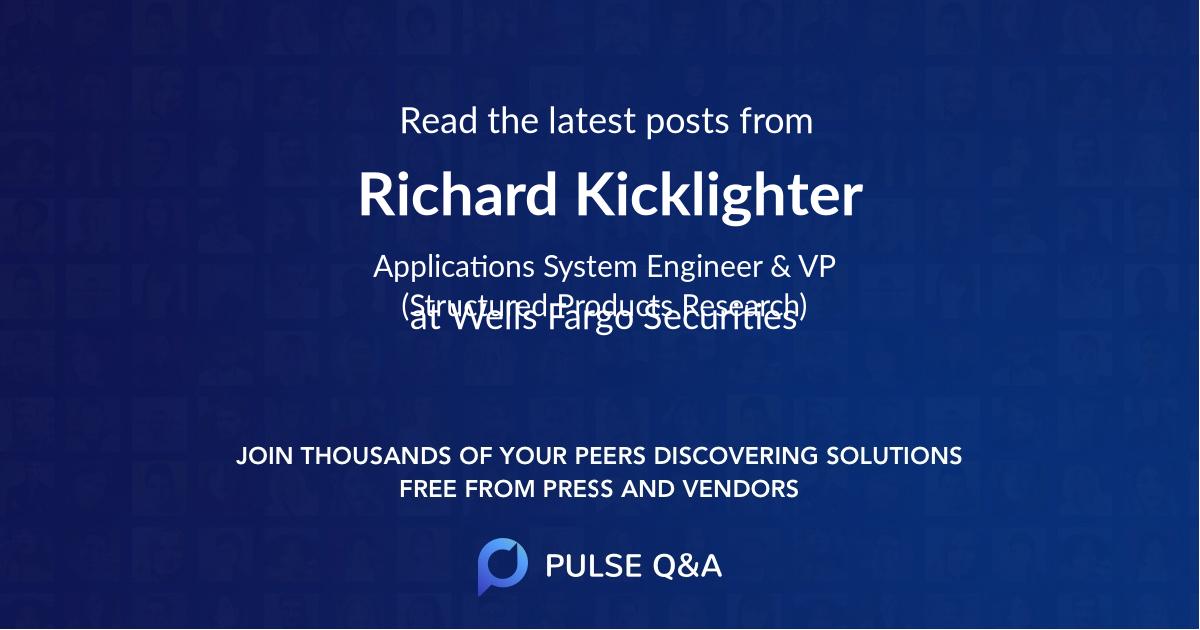 Richard Kicklighter