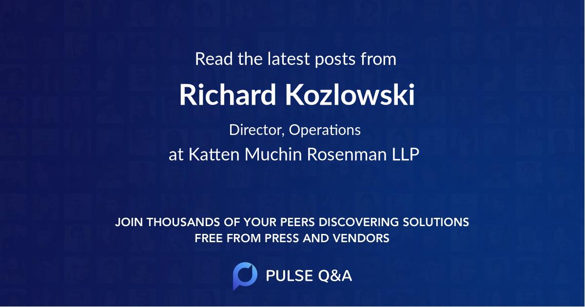 Richard Kozlowski