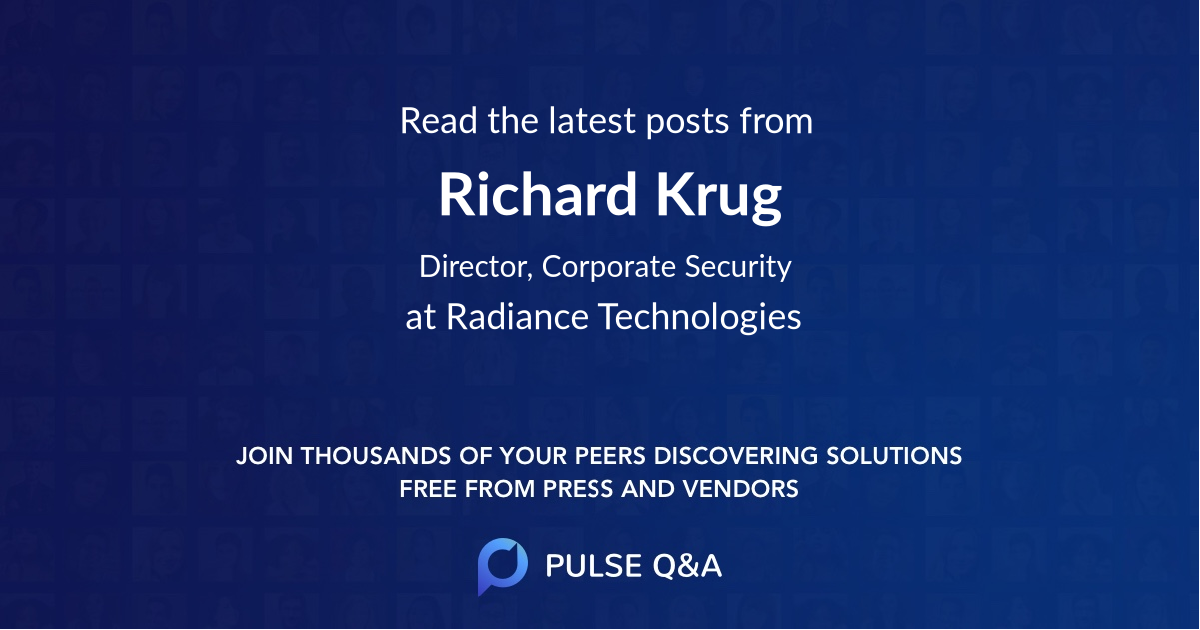 Richard Krug