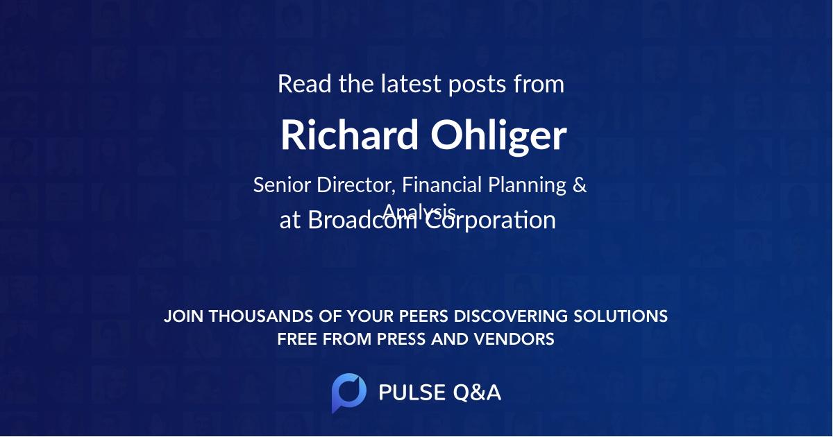 Richard Ohliger