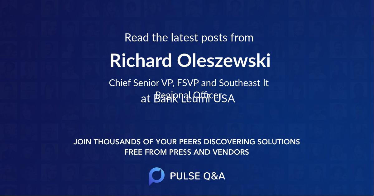Richard Oleszewski