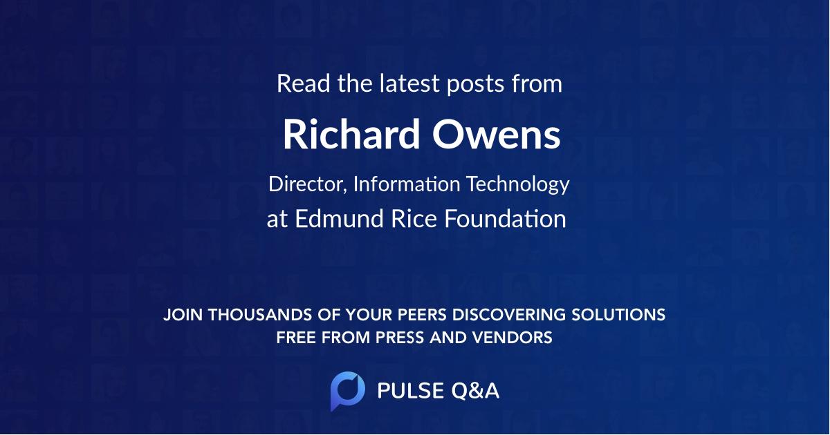 Richard Owens