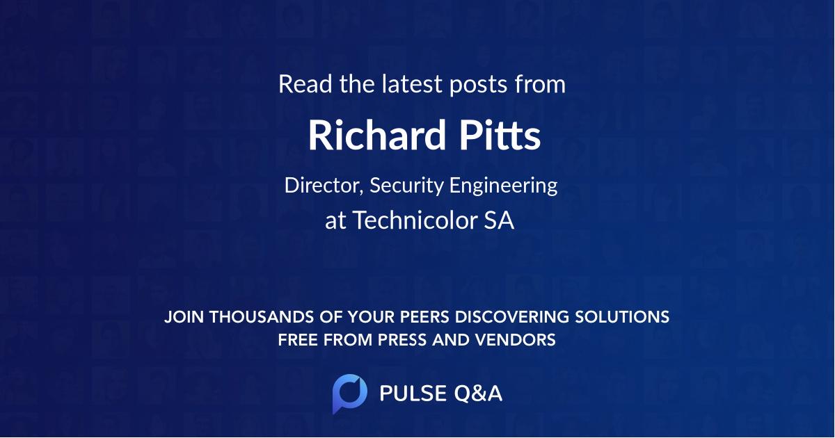 Richard Pitts