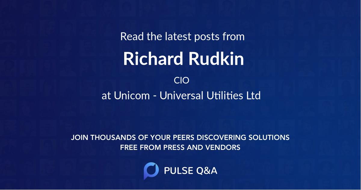 Richard Rudkin