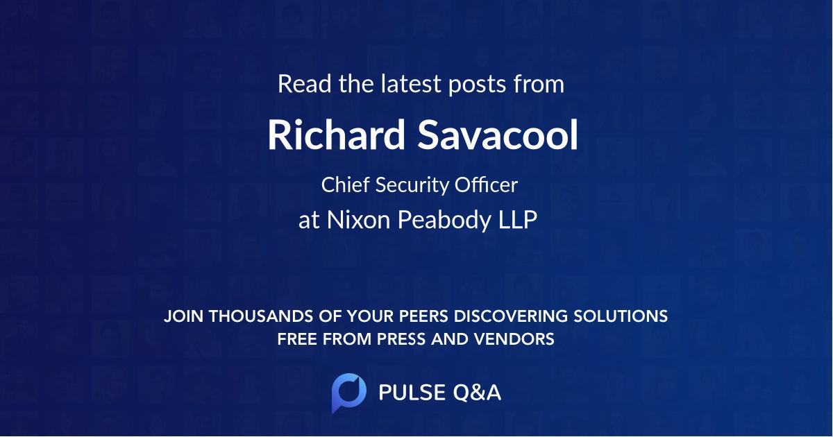 Richard Savacool