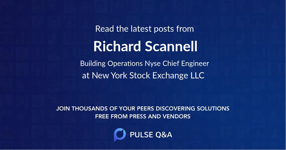 Richard Scannell