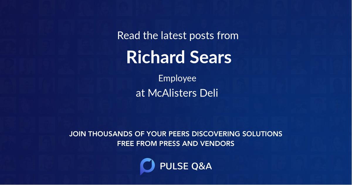 Richard Sears