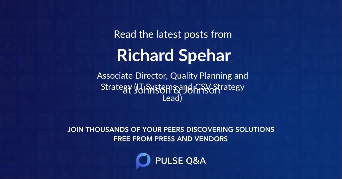 Richard Spehar