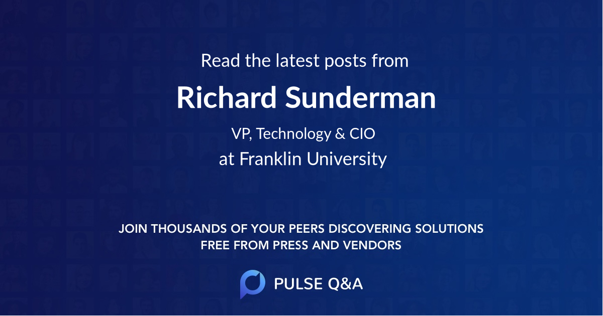 Richard Sunderman