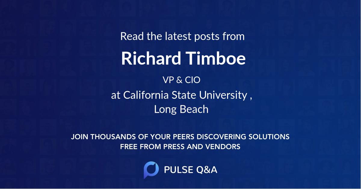 Richard Timboe