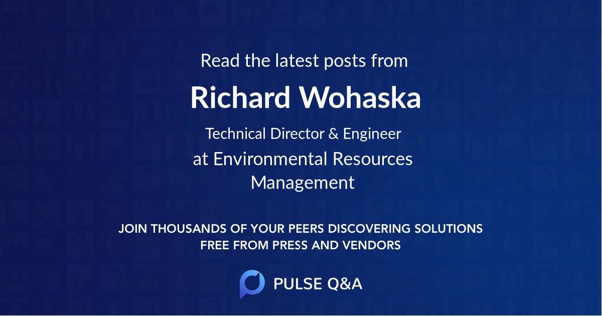 Richard Wohaska