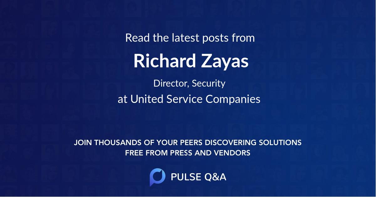Richard Zayas