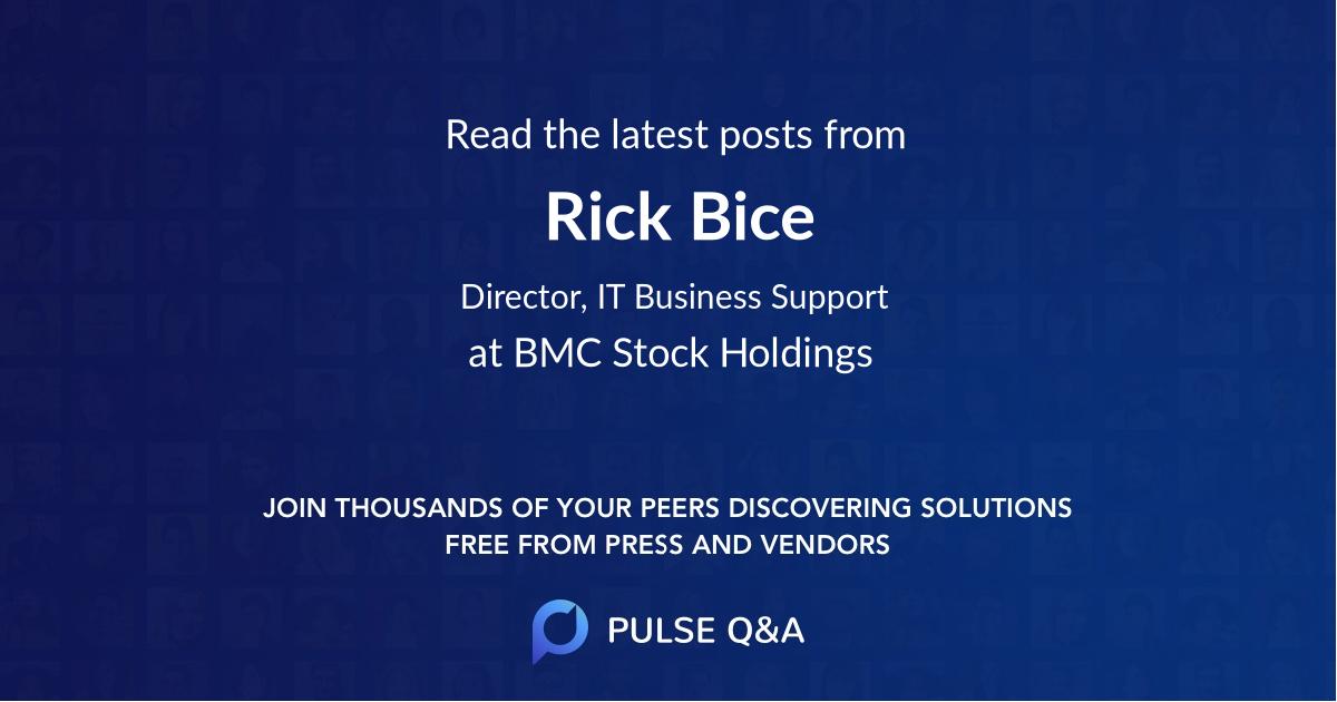 Rick Bice