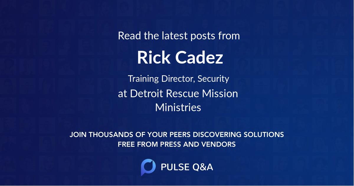 Rick Cadez