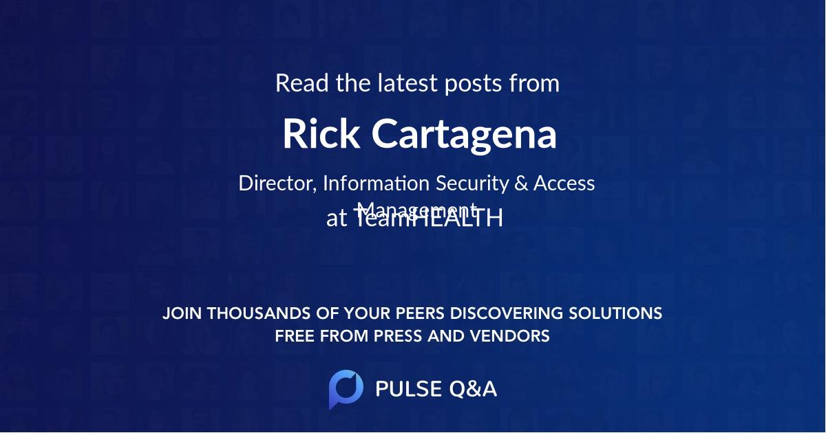 Rick Cartagena