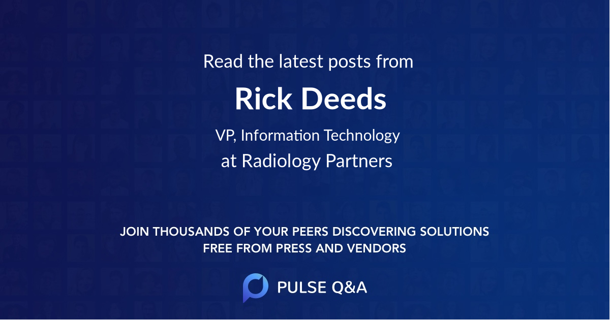 Rick Deeds