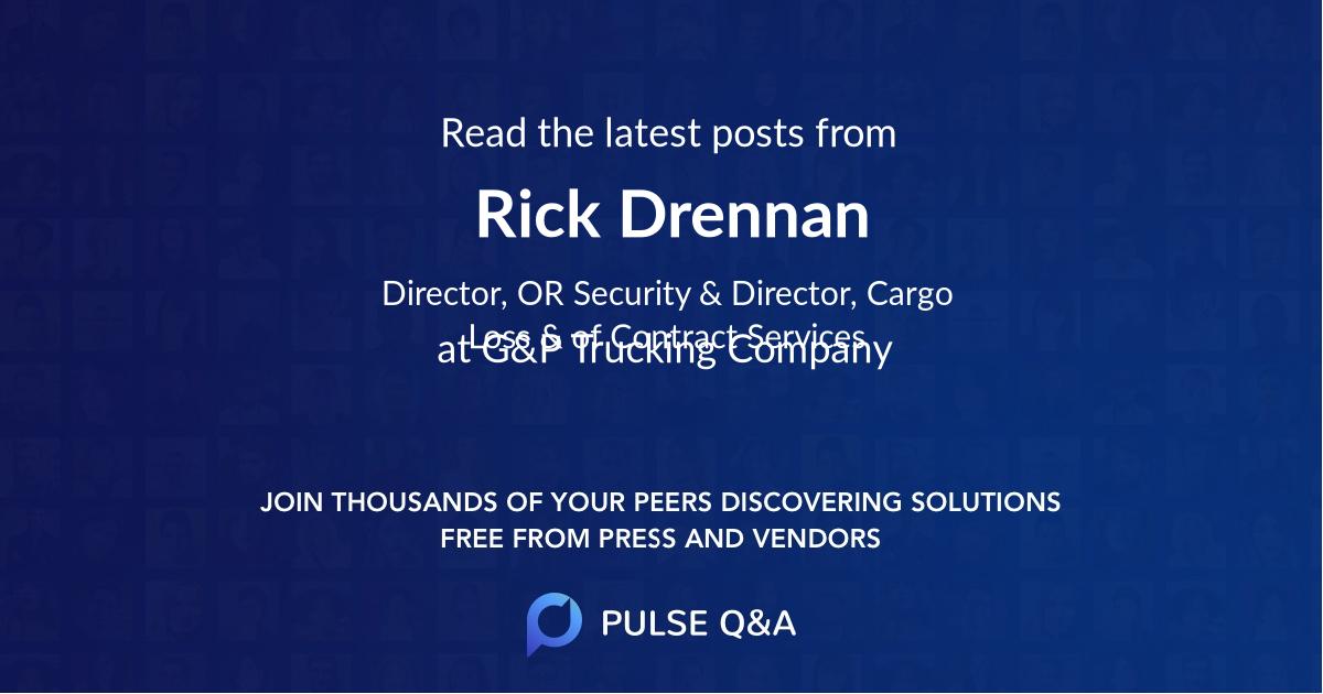 Rick Drennan