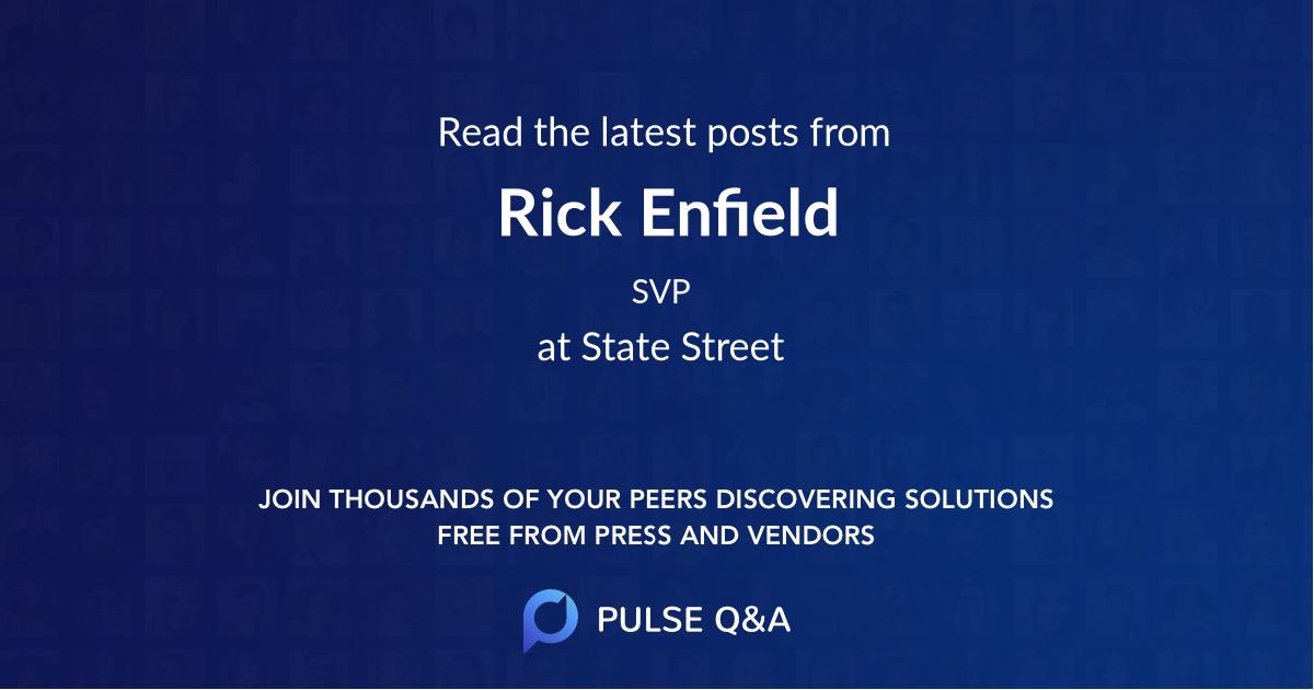 Rick Enfield