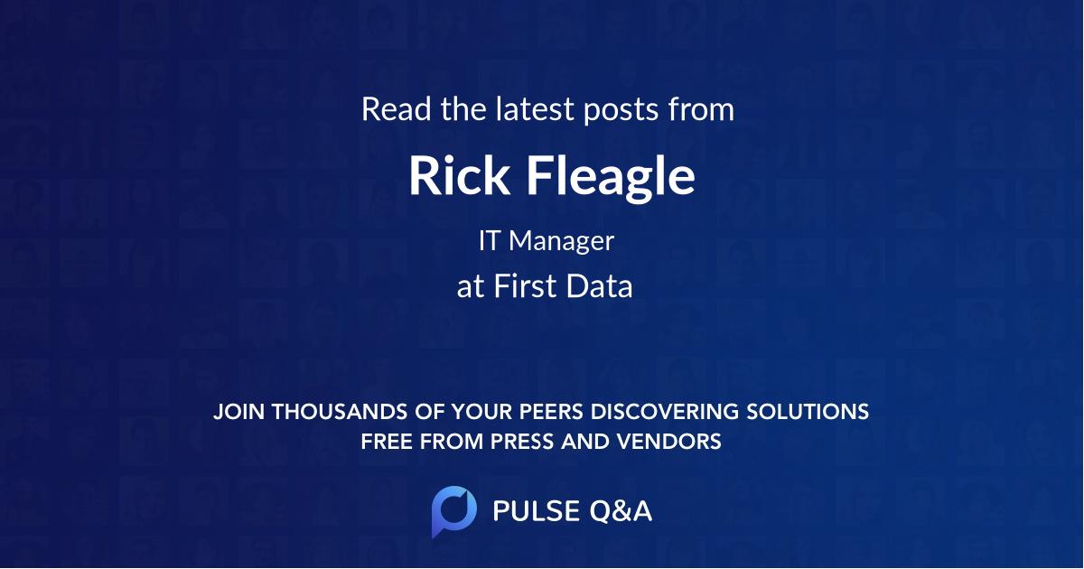 Rick Fleagle