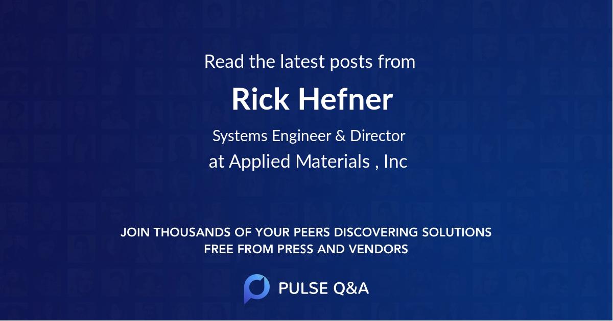 Rick Hefner