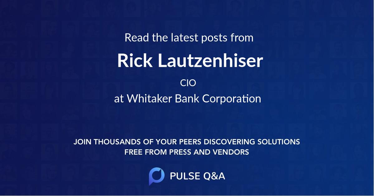 Rick Lautzenhiser