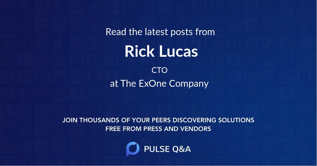 Rick Lucas