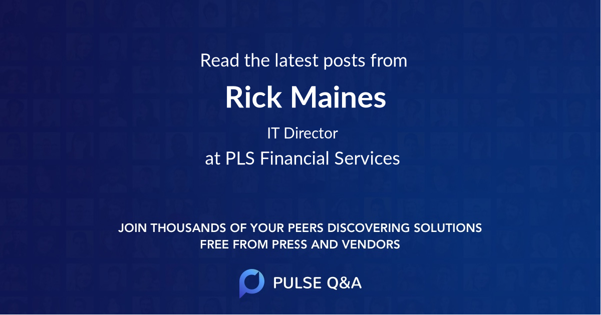 Rick Maines