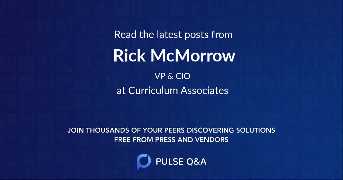 Rick McMorrow