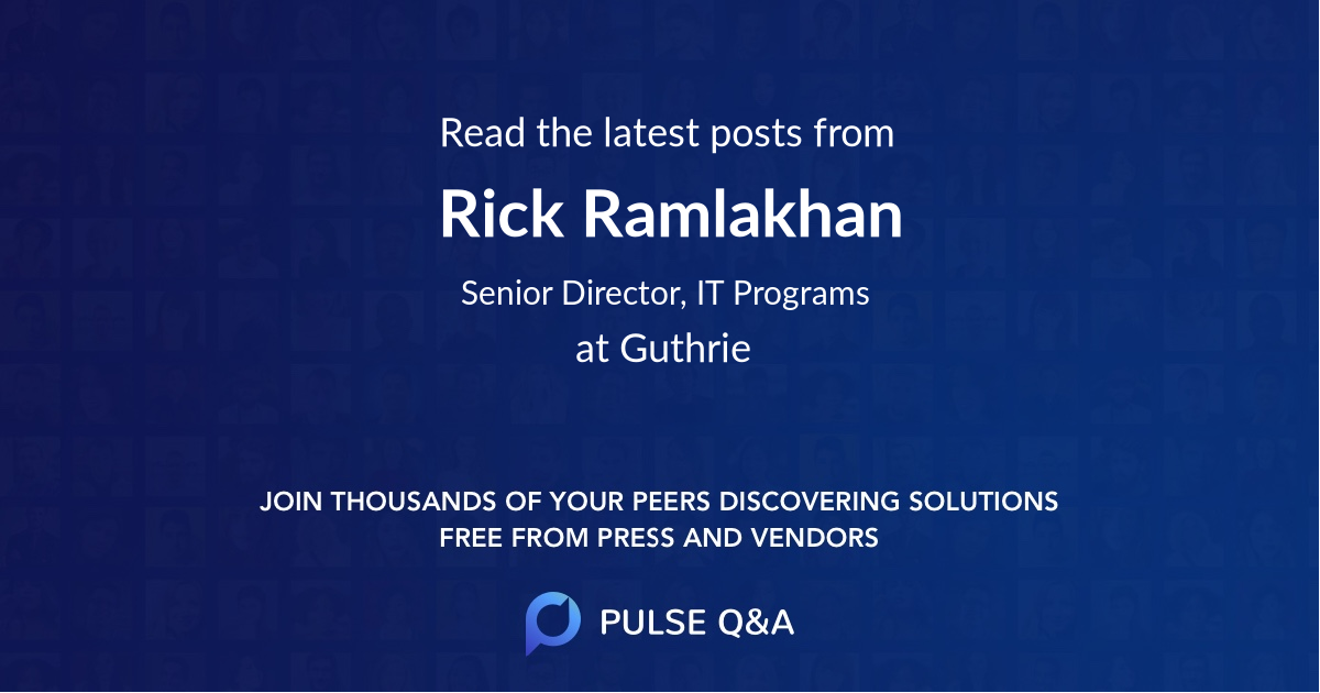 Rick Ramlakhan