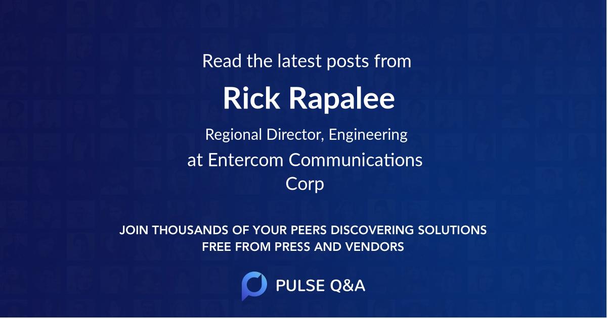 Rick Rapalee