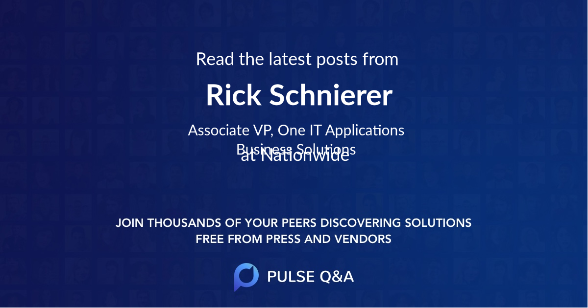 Rick Schnierer