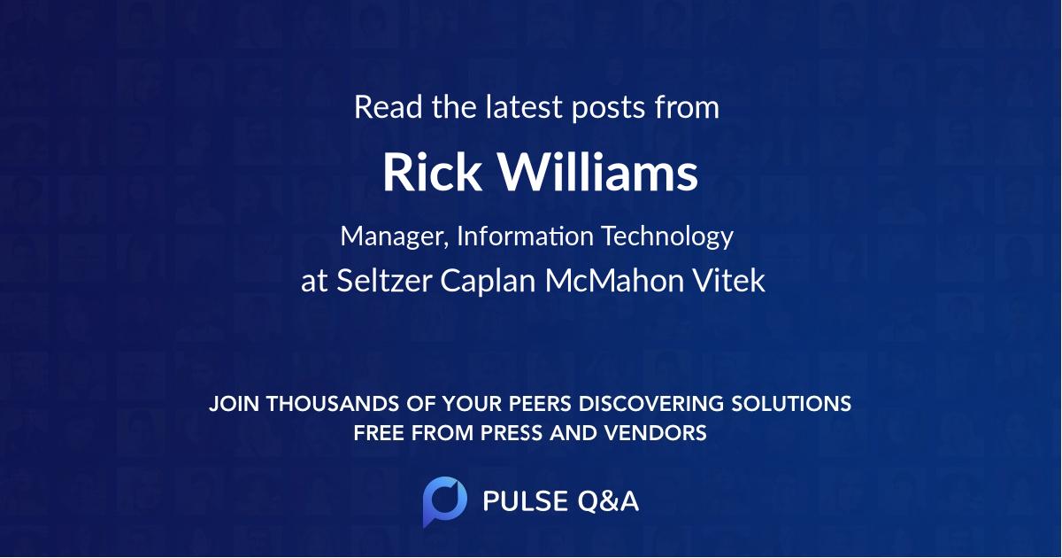 Rick Williams