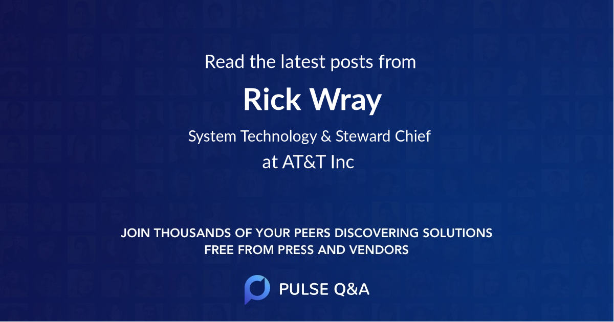 Rick Wray