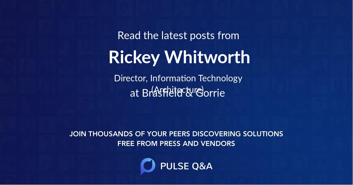 Rickey Whitworth