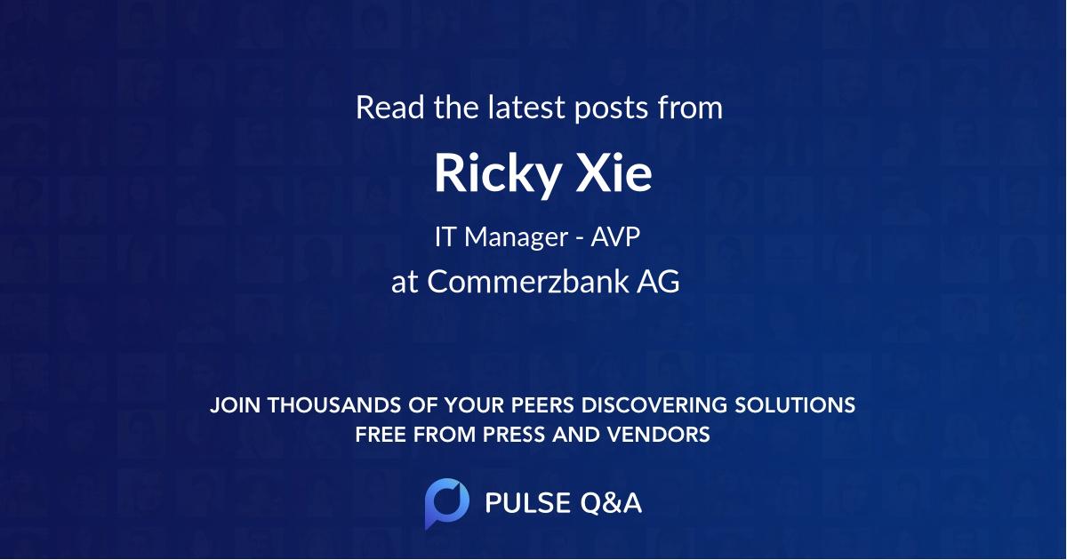 Ricky Xie