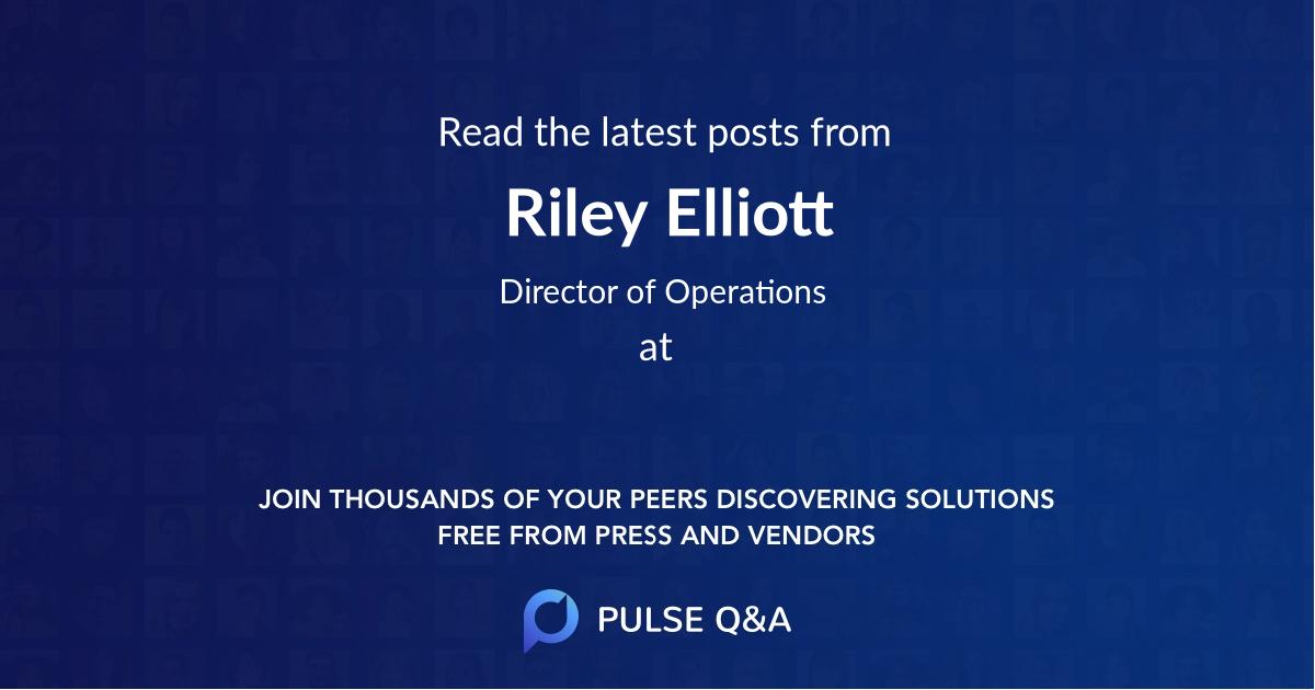 Riley Elliott