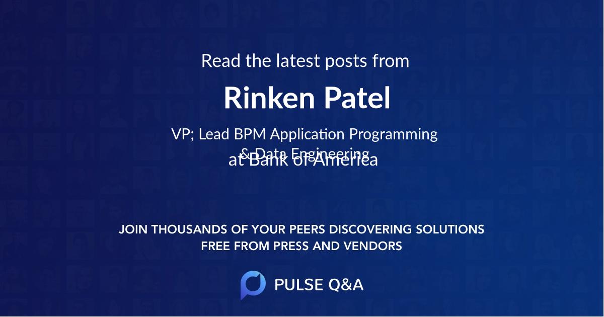Rinken Patel