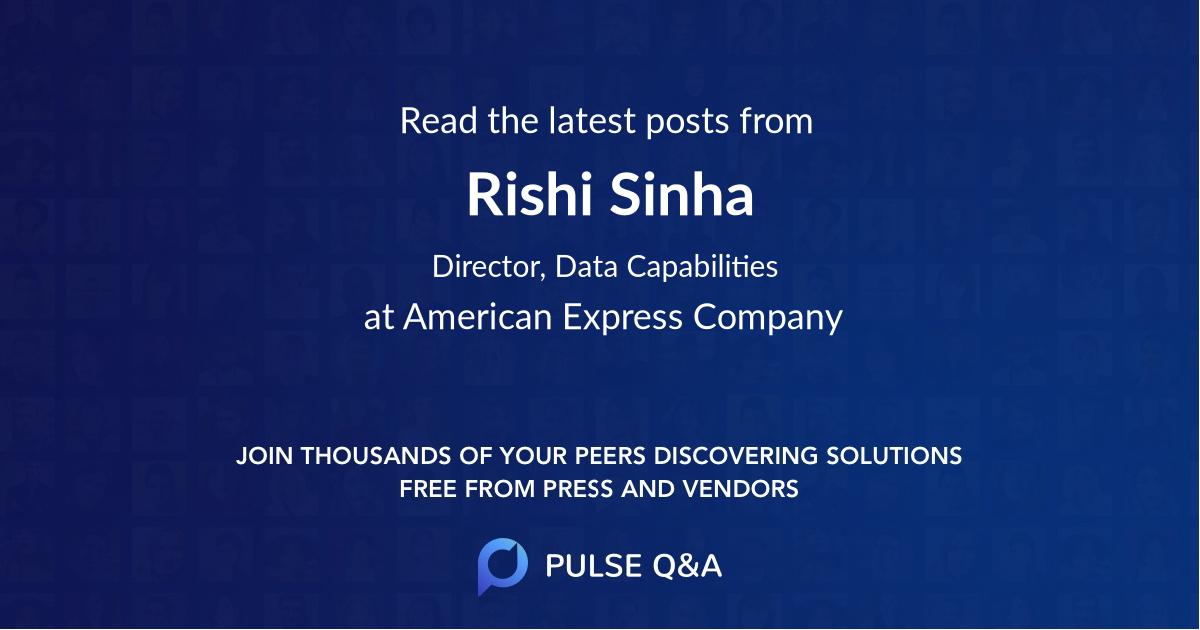 Rishi Sinha