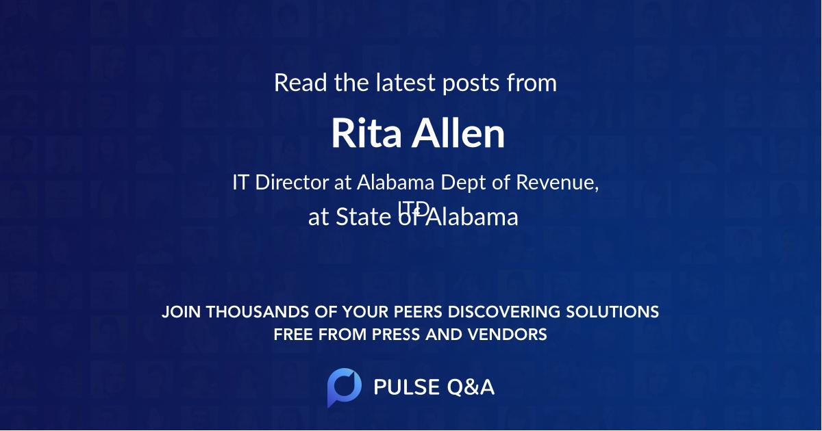 Rita Allen